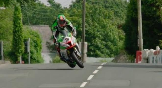 Rider Pulls Off Unbelievable Save To Avoid Crashing At 150 MPH During Isle Of Man TT