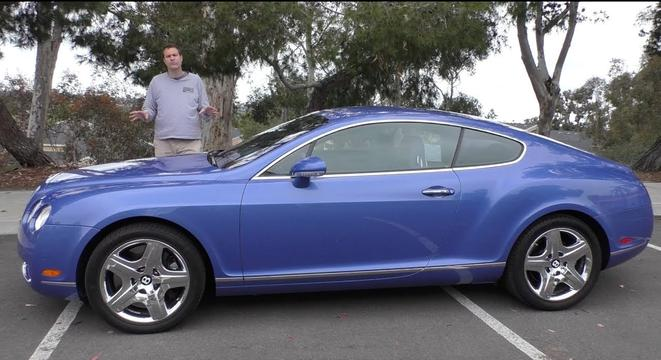 Why A Used Bentley Continental GT Is Worth The $50,000 Price Tag