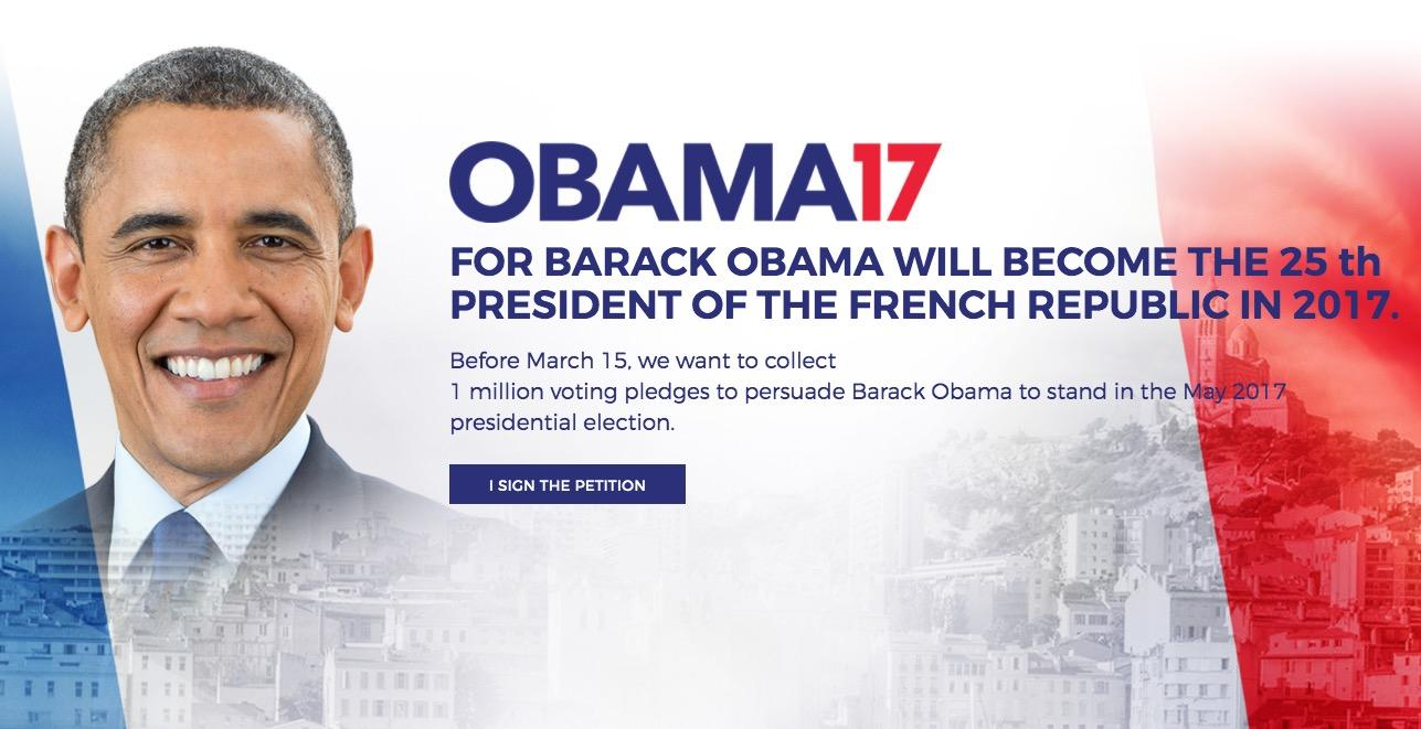 Could Barack Obama Actually Run For President Of France?