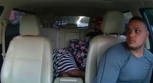 Taxi Driver Is Unbelievably Calm As A Baby Is Born In The Backseat Of His Car