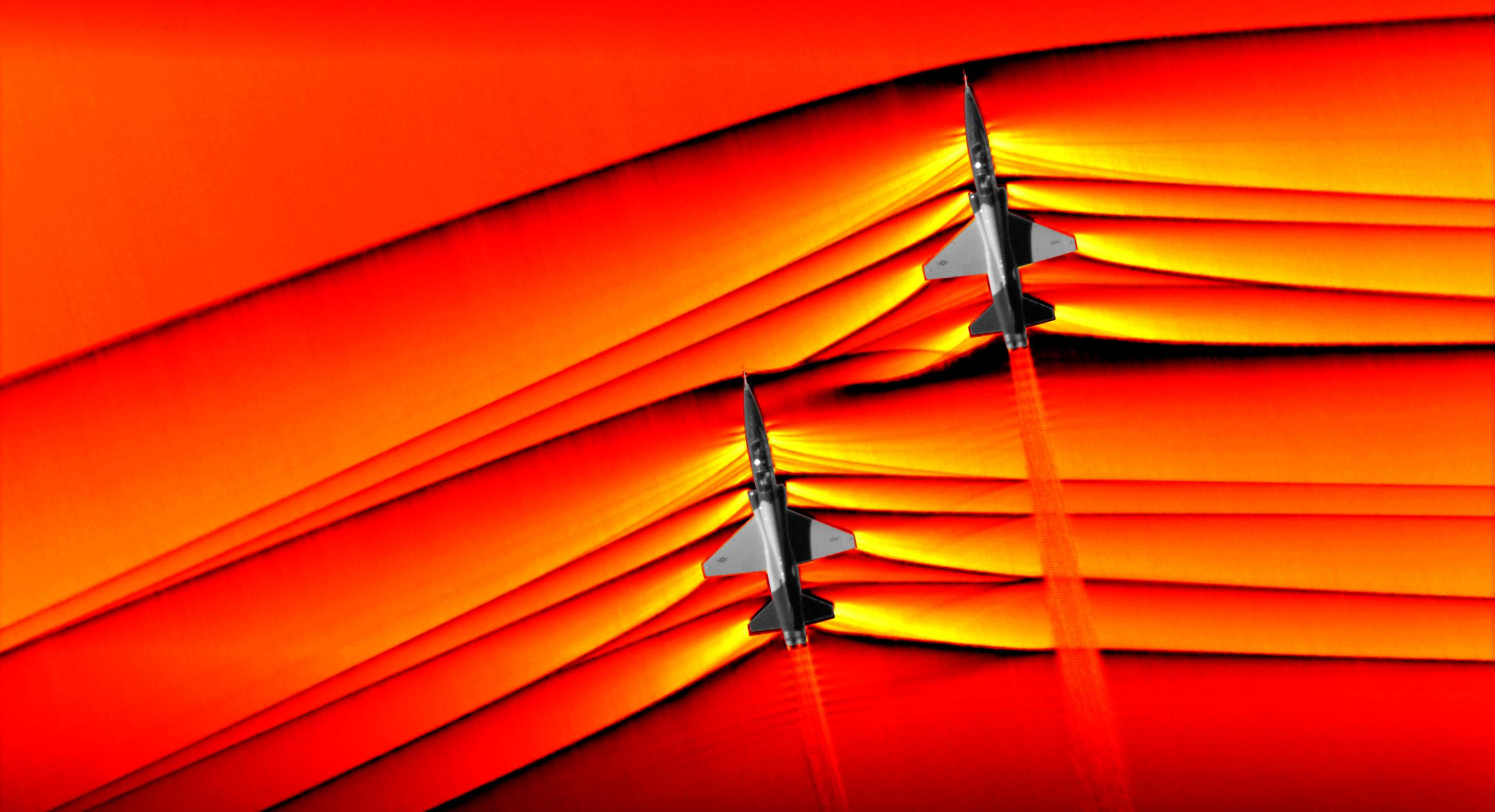 NASA captures unprecedented images of supersonic shock waves