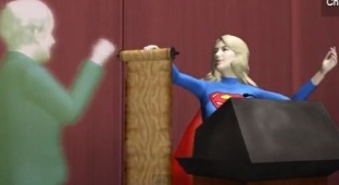 Wendy Davis Gets the Taiwanese Animation Treatment