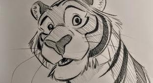 Disney Animator Explains How He Came Up With The Character Design For Rajah In 'Aladdin'