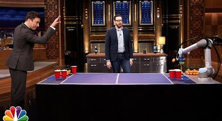 roomba pong is here and it s ten times better than normal beer pong