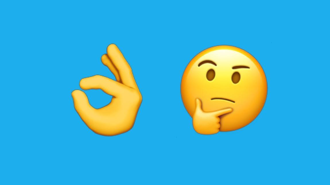 is it still okay to use the ok hand emoji digg