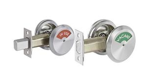 Every Public Bathroom Should Have An Occupancy-Indicator Lock