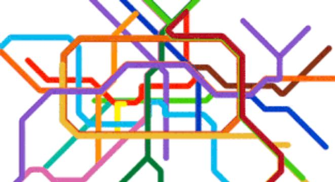 Nyc Simple Subway Map.Mesmerizing Gifs Comparing Major Cities Subway Maps With Their