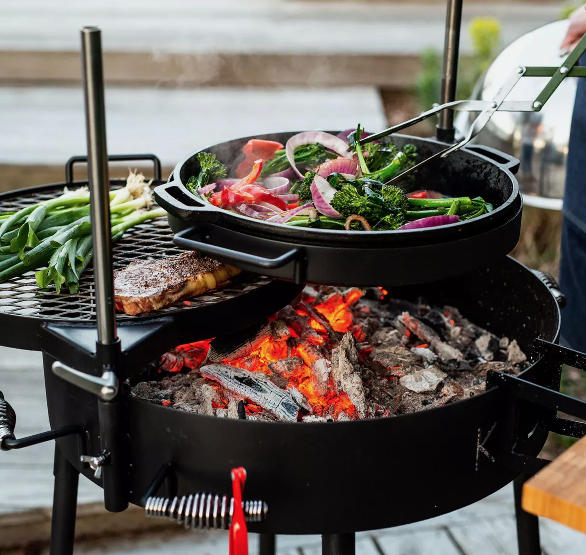 This South African-Inspired Grill Makes The Grill Chef The Nexus Of The Party