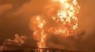 Philadelphia Rocked By Massive Oil Refinery Explosion