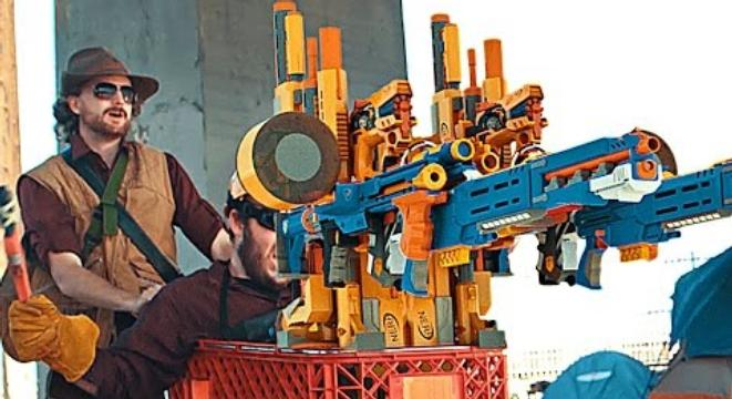 We Can't Believe It Took This Long To Recreate 'Team Fortress 2' With Nerf  Guns