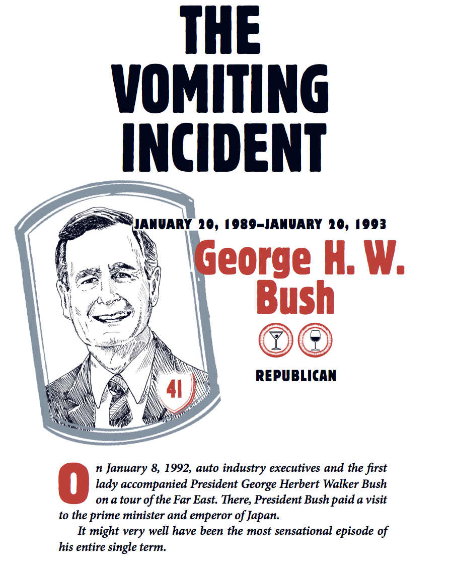 A Short History Of That Time George H W Bush Vomited In Japan Digg