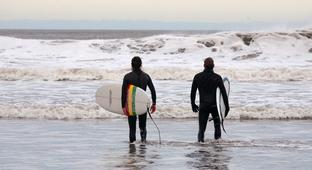The Surfers Of Tynemouth