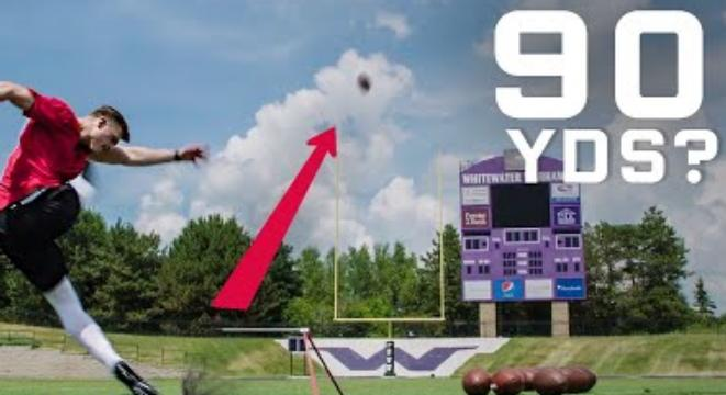 Why It's Nearly Impossible To Kick A 90-Yard Through A Field Goal