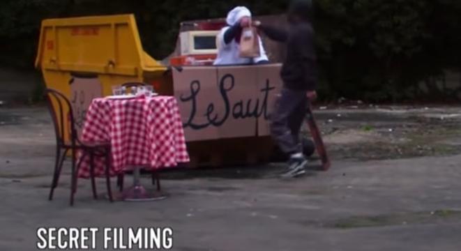 UK Comedian Hilariously Gets Uber Eats To Deliver Food From Dumpster