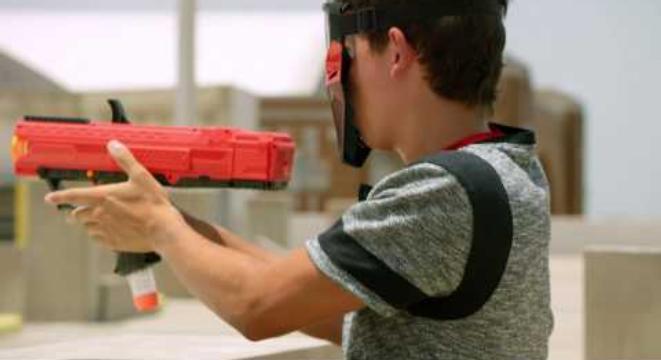 NASA Engineer Builds World's Largest Nerf Gun