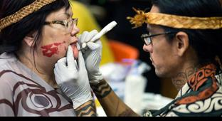 A New Generation Is Reviving Indigenous Tattooing