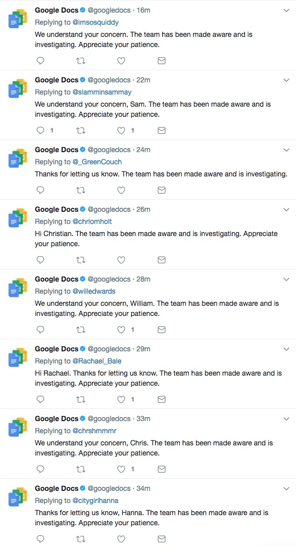 Google Flagged A Bunch Of Google Doc Files As Violations Of Their