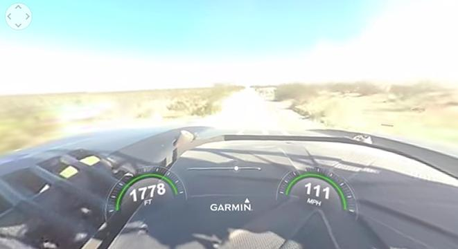 Heres A 360 Degree Video Of A Trophy Truck Hitting A Cow At 112 Mph