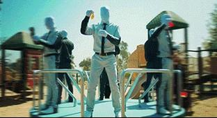 There Are No Special Effects At Work In This Insane Video Featuring A Human Zoetrope