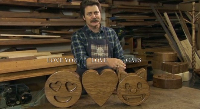 Nick Offermans Handcrafted Wood Emojis Digg