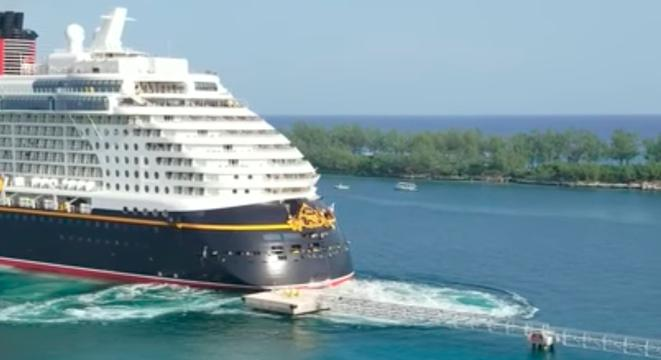 Disney Cruise Ship Misses The Mark, Runs Directly Into A Dock - Digg