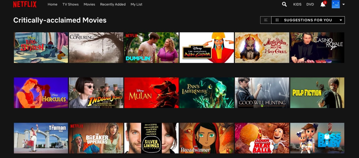 Why Are Netflix And Amazon's Categories So Wrong? - Digg