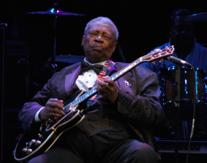 BB King was great because he played out of tune - Digg