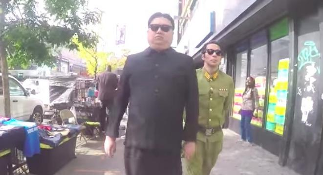 Walking Around Nyc Dressed Up Like Kim Jong Un Will Certainly Turn