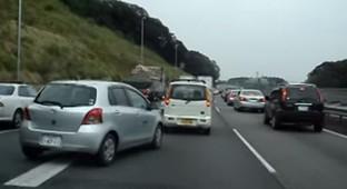 Polite Japanese Drivers