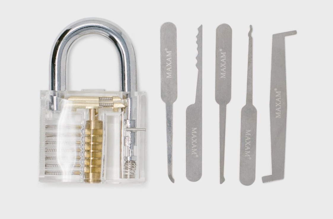 Wish You Could Pick Locks? Get This Kit
