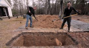 Man Learns The Morbid Skill Of Grave Digging By Hand