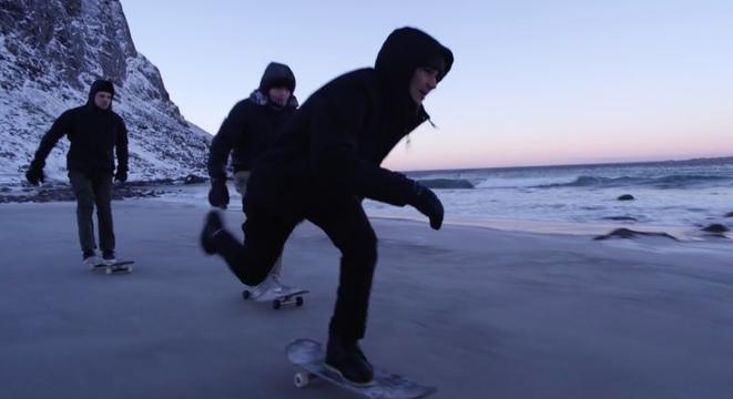 A Gorgeously Shot Short About Skateboarders On A Frozen Norwegian Beach
