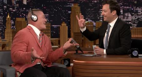 John Cena Answers Hard Hitting Questions From Random New