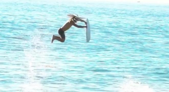 This Skimboard Trick Is Frickin' Nuts - Digg