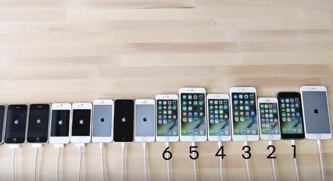 all the iphones ever made a speed test comparison of every iphone made digg 16565