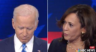 Here's The Kamala Harris/Joe Biden Moment That You'll Probably Be Hearing About Today