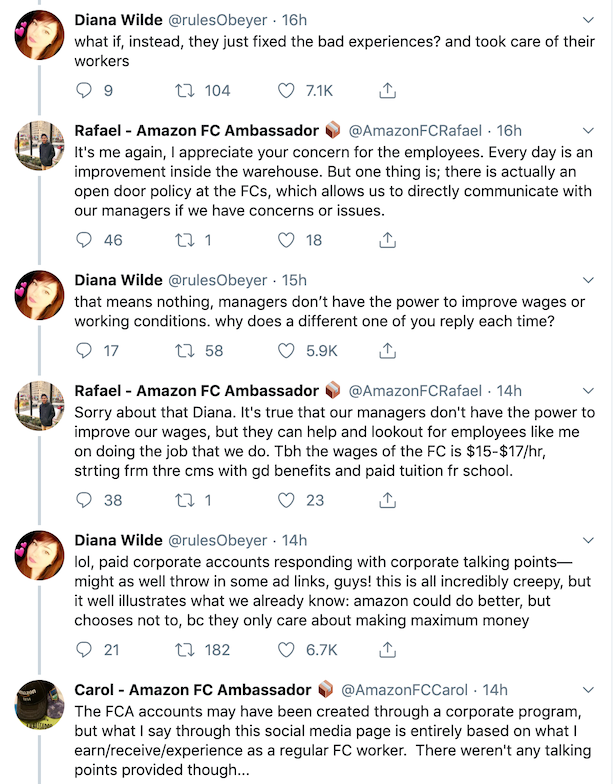 This Twitter Thread Of A User Interacting With Amazon's
