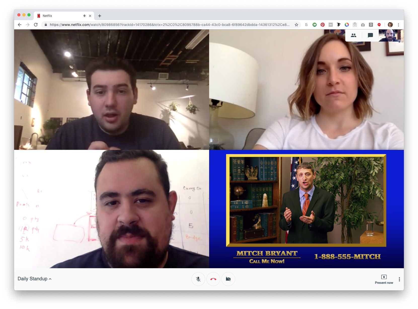 This Netflix Hangouts Plugin Is One Of The Most Creative