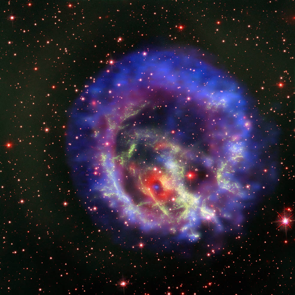 NASA spots distant, lonely neutron star