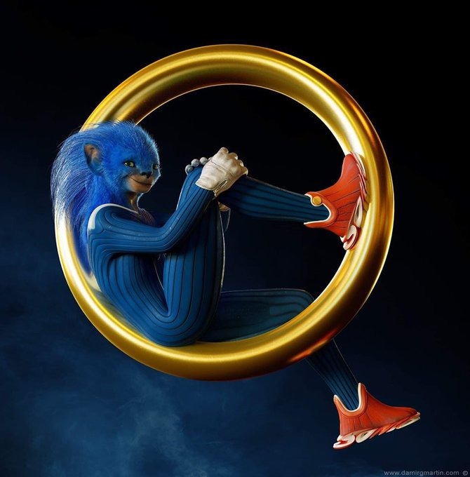 Hoax Alert These Horrid Sonic Renders Are Not From The New Movie Thank The Lord Digg