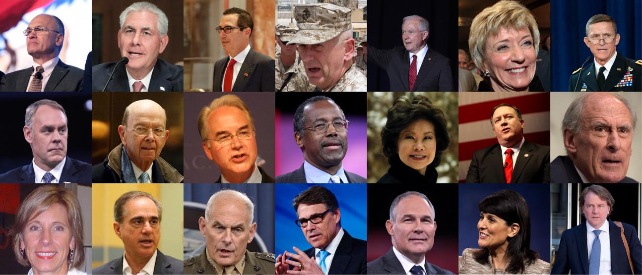 Meet Trump's Full Cabinet - Digg