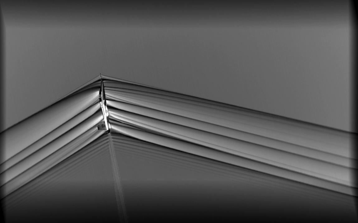 NASA snaps supersonic shockwaves interacting in flight: Wowza!
