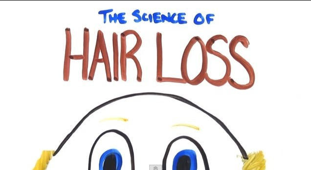 curly hair fall