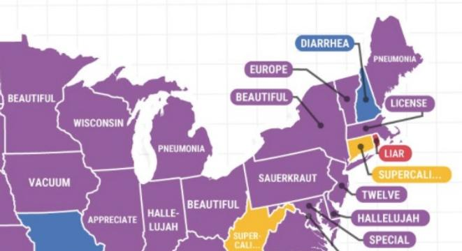 The Most Common Words That People Don T Know How To Spell In Every State Digg