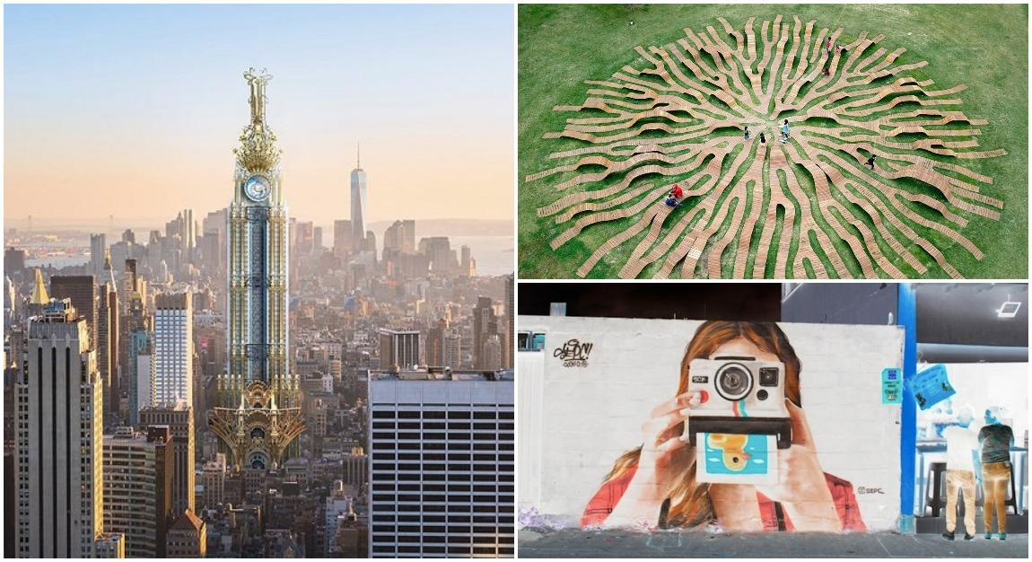 Reimaging The Empire State Building In Nine Architectural Styles And More Of The Week S Coolest Design Digg