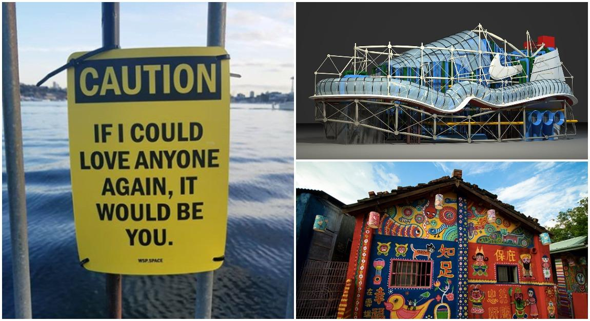 Street Signs WIth Unexpectedly Wholesome Messages, And More Of The Week's Coolest Design