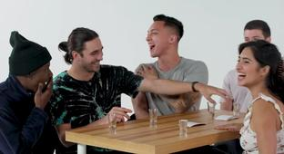 A Woman Asks Very NSFW Truth Or Drink Questions While Speed Dating Four Guys