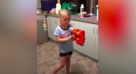 Girl Bravely Shoots Out Tooth With A Nerf Gun - Digg