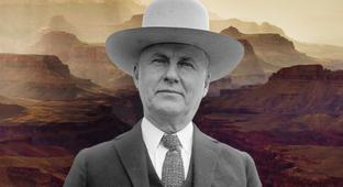The Man Who Tried To Claim The Grand Canyon