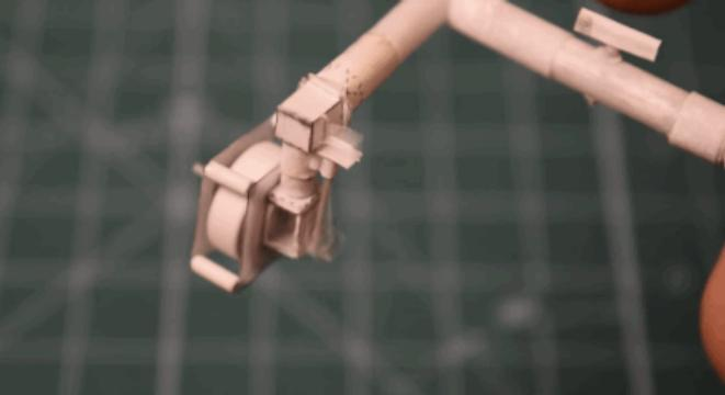 Guy Builds A Tiny Working Single Cylinder Engine Out Of Freaking Paper